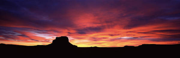 Peacefulness Photograph - Buttes At Sunset, Chaco Culture by Panoramic Images