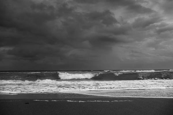 Photograph - Bw Seascape by Rudy Umans