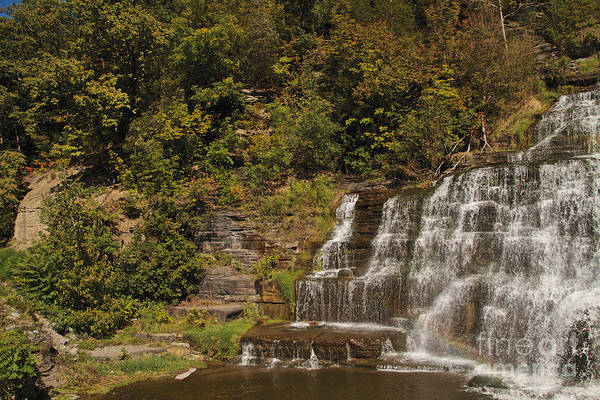 Wall Art - Photograph - By Hector Falls by William Norton