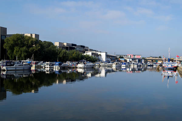 Photograph - By The Brayford by Scott Lyons