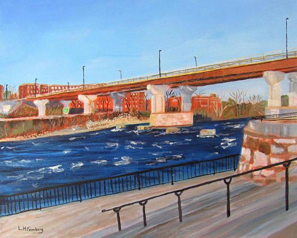 Painting - By The Bridge by Linda Feinberg