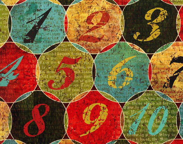 Novelties Painting - By The Numbers by Marilu Windvand