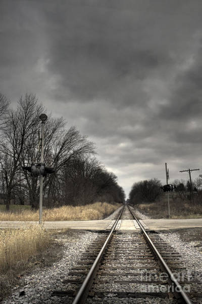 Railroad Tie Wall Art - Photograph - By Train by Margie Hurwich