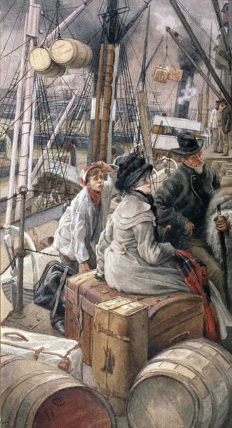 Painting - By Water by James Jacques Joseph Tissot