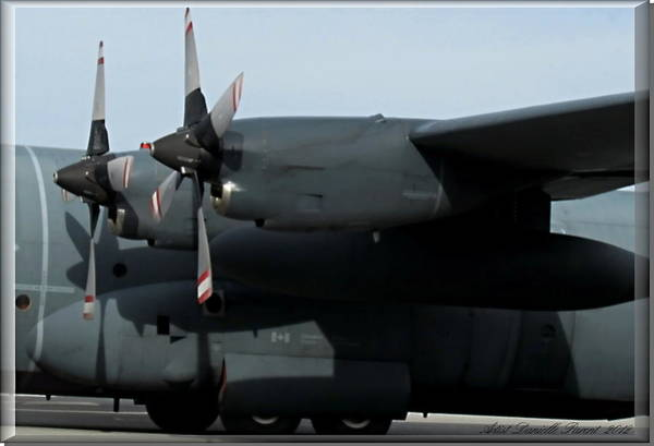 Department Of Defense Photograph - Lockheed C-130 Hercules Impressive Airbus by Danielle  Parent