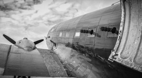 Photograph - C-47 Gunship by David Hart