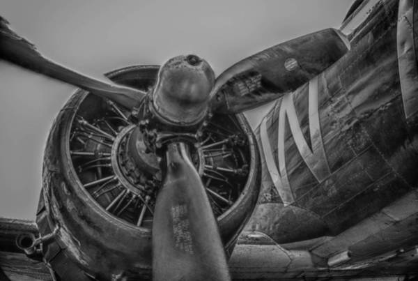 Photograph - C-47 Starboard Prop by Guy Whiteley