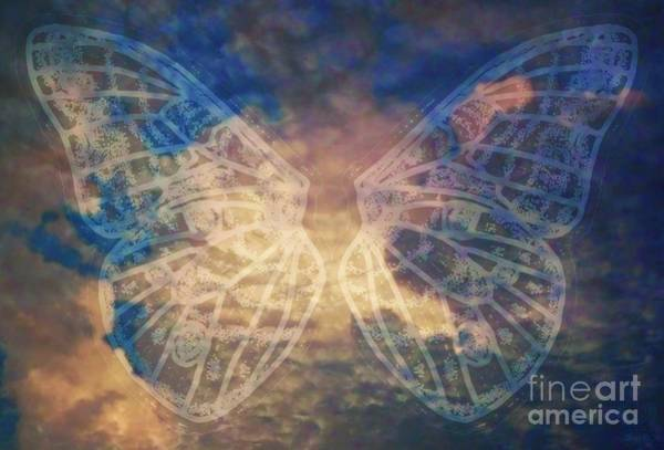 Primary Colors Drawing - C New Moth Neg L Clouds2 by Dale Crum