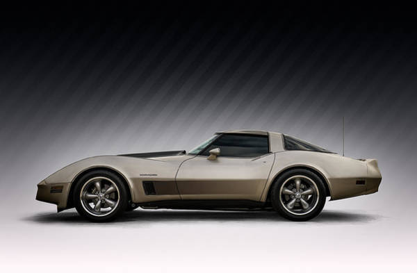 Chevy Corvette Wall Art - Digital Art - C3 Stingray by Douglas Pittman