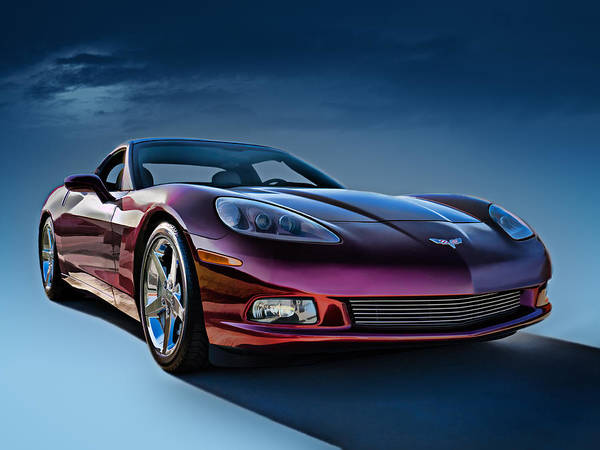 Chevrolet Digital Art - C6 Corvette by Douglas Pittman