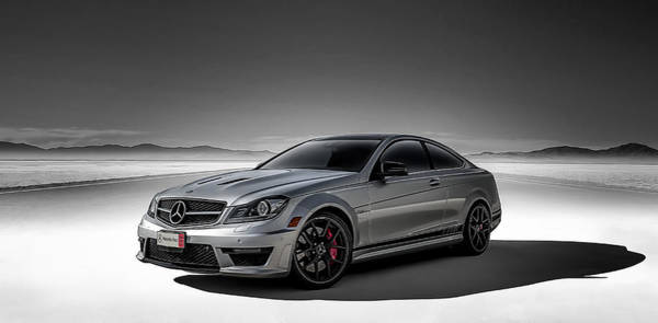 Wall Art - Digital Art - C63 Amg by Douglas Pittman