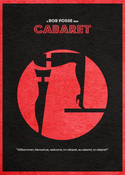 1972 Wall Art - Digital Art - Cabaret by Inspirowl Design