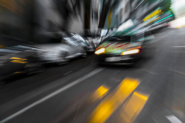 Photograph - Cabbie Too Fast by Scott Campbell