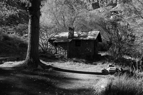 Photograph - Cabin At Indian Gardens - Grand Canyon by Aidan Moran