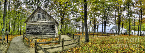 Mission Bay Photograph - Cabin At Old Mission Lighthouse by Twenty Two North Photography