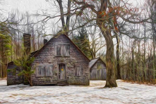 Photograph - Cabin Dream by Debra and Dave Vanderlaan