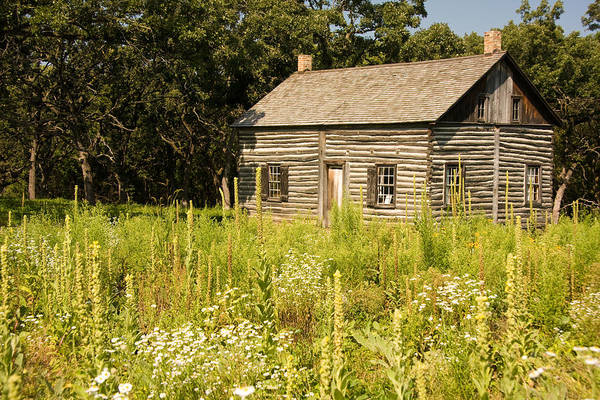 Photograph - Cabin In The Prairie by Susan Leonard