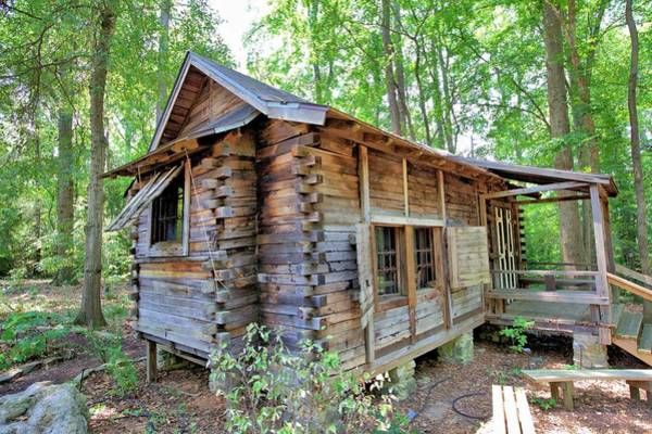 Photograph - Cabin In The Woods by Gordon Elwell
