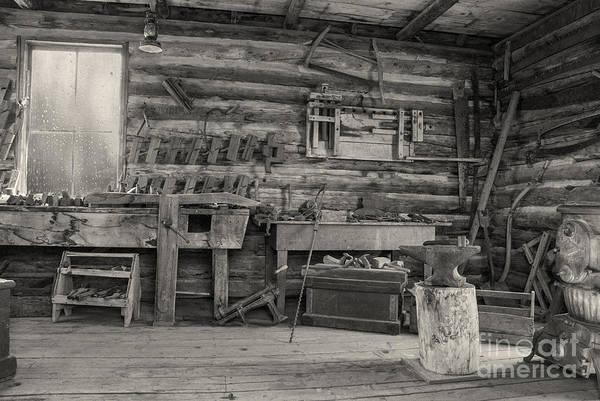 Relics Photograph - Rustic Cabin Interior by Juli Scalzi