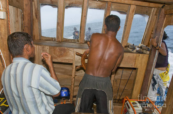 Photograph - Crossing The Wetar Strait by Dan Suzio