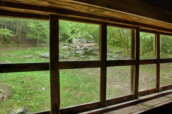 Photograph - Cabin View by Denise Bush