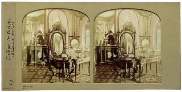Ch Painting - Cabinet De Toilette Château De Saint-cloud Palace by Artokoloro