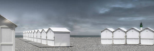Wall Art - Photograph - Cabins Beach by Gilbert Claes