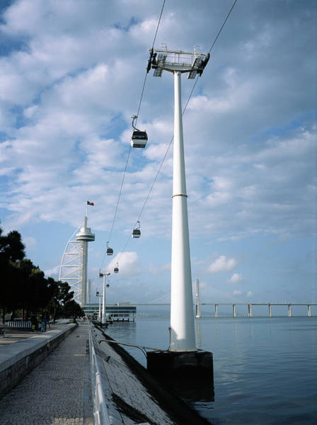 Wall Art - Photograph - Cable Cars by Robert Brook/science Photo Library