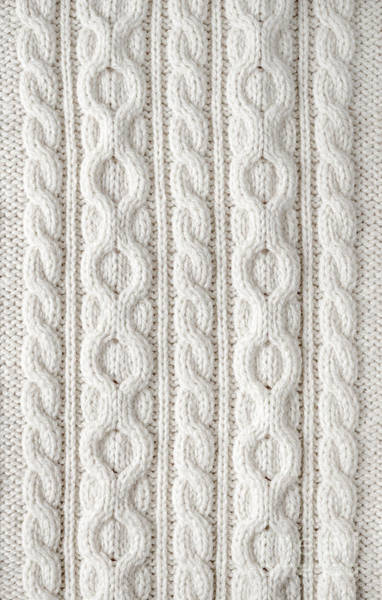 Cabling Photograph - Cable Knit by Elena Elisseeva