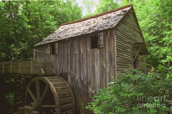 Photograph - Cable Mill In Smoky Mtns by Teri Brown