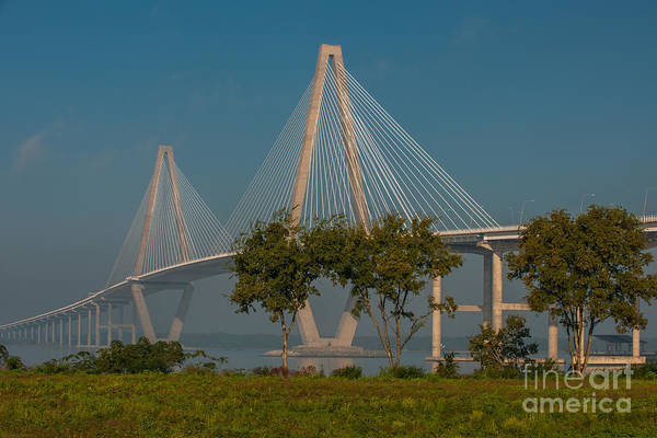Photograph - Cable Stayed Bridge by Dale Powell