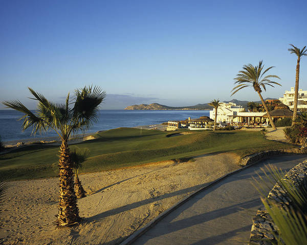 Real Photograph - Cabo Real Golf Course by Stephen Szurlej