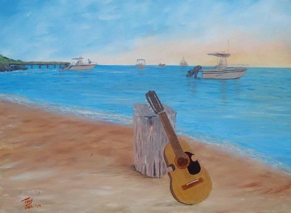Painting - Cabo Rojo Cuatro by Tony Rodriguez