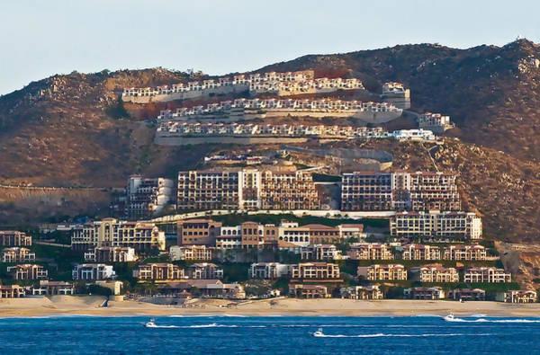 Photograph - Cabo San Lucas Hillside Homes by Ginger Wakem