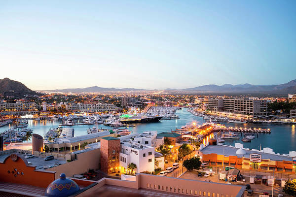 Harbor Photograph - Cabo San Lucas Marina As Seen From by Cultura Rm Exclusive/instock