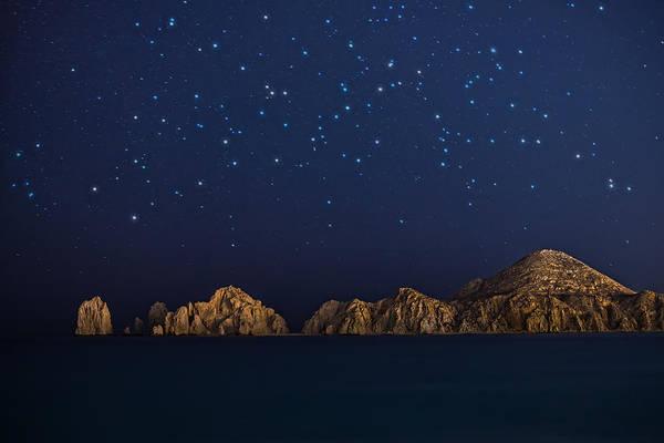 Cabo San Lucas Arch Wall Art - Photograph - Cabo San Lucas Stars by James Wheeler