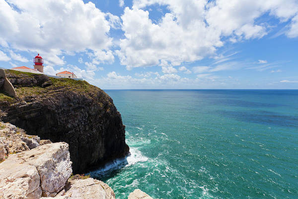 Sagre Wall Art - Photograph - Cabo Sao Vicente Lighthouse, Sagres by Werner Dieterich