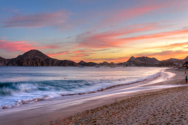 Sea Of Cortez Photograph - Cabo Sunset by Mark Goodman