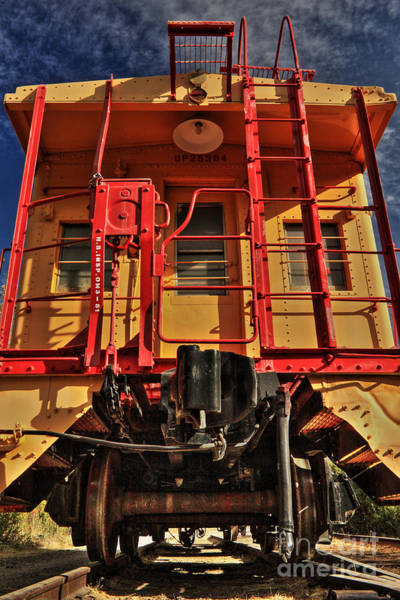 Photograph - Caboose by James Eddy