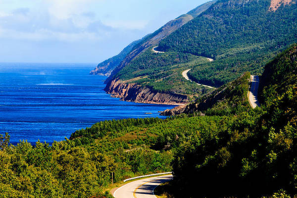 Cabot Trail Photograph - Cabot Trail by Ben Graham