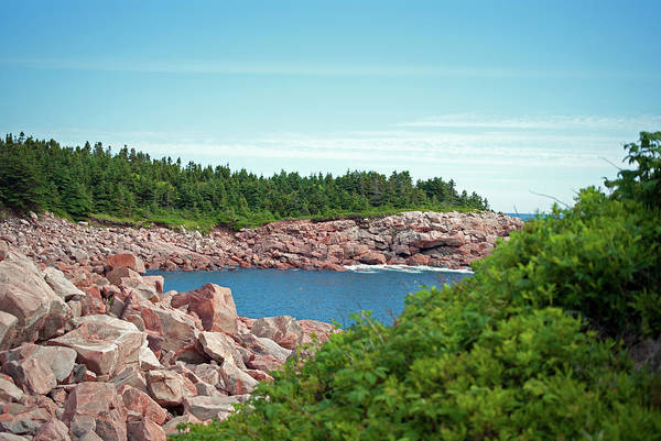Cabot Trail Coastline Art Print by Andalib