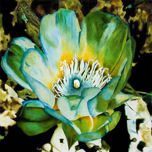 Painting - Cactus Flower 1 by Lee Santa