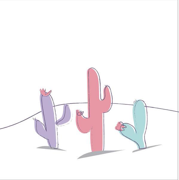 Wall Art - Painting - Cactus by Pamela J. Wingard