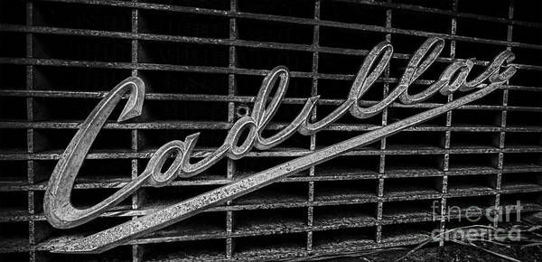 Photograph - Caddy Bw by Ken Johnson