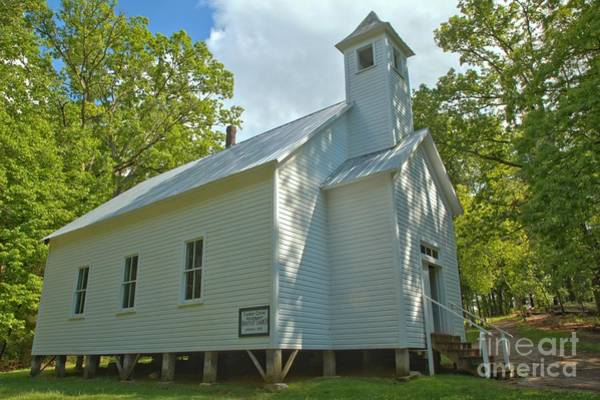 Photograph - Cades Cove Baptist Church by Adam Jewell