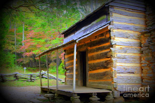 Photograph - Cades Cove Cabin by Cynthia Mask