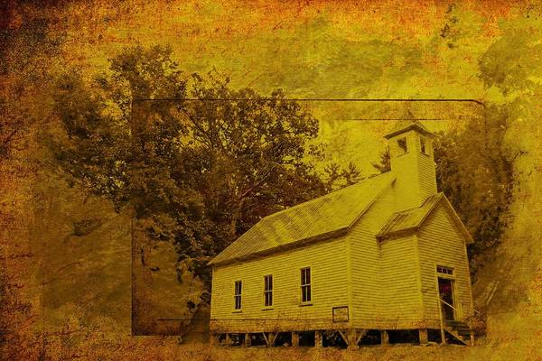 Wall Art - Photograph - Cades Cove Methodist Church by Alice Gipson