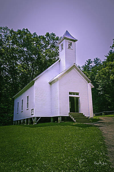 Photograph - Cade's Cove Missionary Baptist by Barry Jones