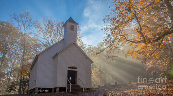 Missionary Photograph - Cades Cove Missionary Baptist Church by Bridget Calip