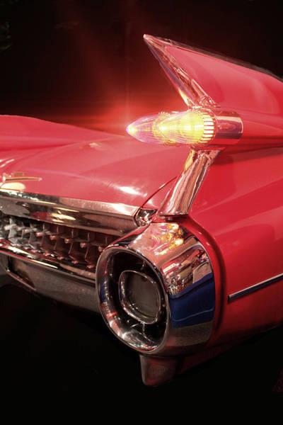 Photograph - Cadillac Fin Tail by Carlos Diaz